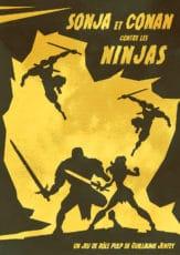 sonja et conan contre les ninjas couverture