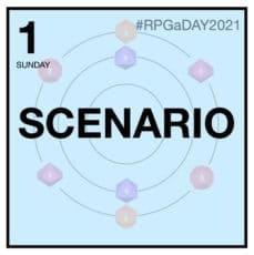 scdénario de jeu de rôle illustration rpgaday2021
