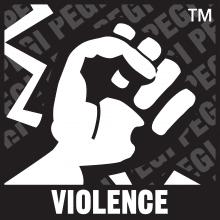 violence pegi logo